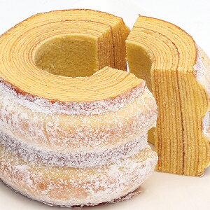 道産小麦、バター、鶏卵など、北海道の素材をたっぷり使ったバウムクーヘン北海道バウムクーヘン