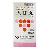 【第2類医薬品】ウチダの大甘丸100g (1340丸) 1個