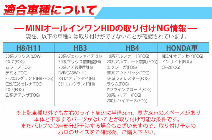 HIDキット一体型
