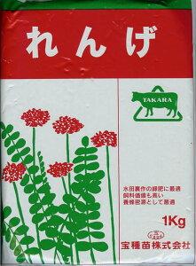 景観用緑肥 れんげ レンゲ 種子 1kg
