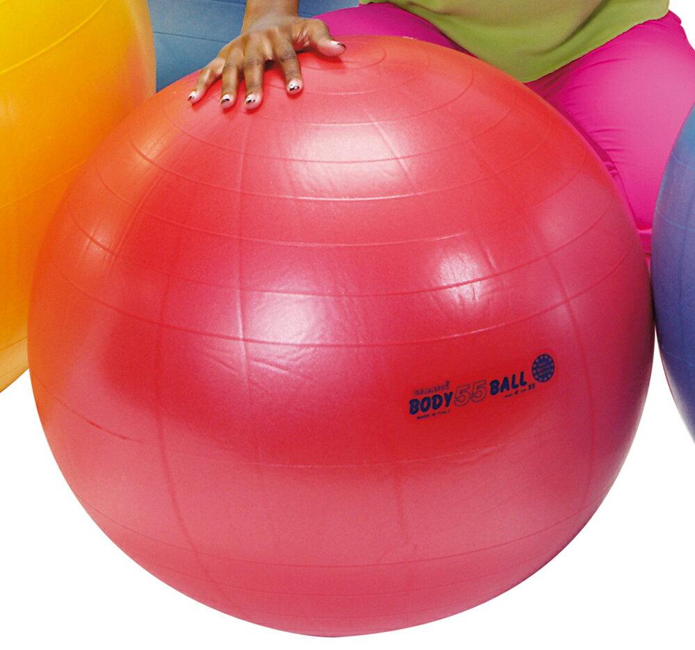 ギムニクボディボール55【バランスボールボディボール55】赤、ギムニクボール