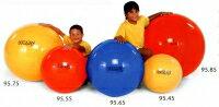 【予約受注商品】ギムニク55、ギムニクカラーボール【バランスボール55】赤、ギムニクボール