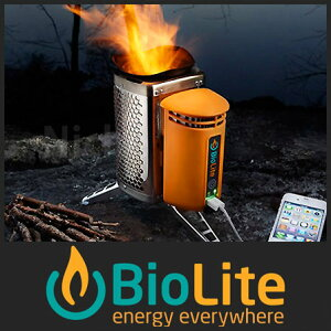[レビューでQUO500] 【ポッドアダプター付属】【充電できるキャンプストーブ】[ BioLite バイオ...
