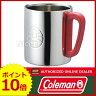 ◆月末SALE!!◆コールマン ダブルステンレスマグ300 (レッド) [ 170-9484 ] [ Coleman コールマン   マグカップ コップ ][P10]