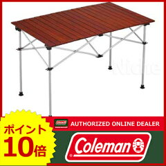 コールマン ウッドロール2ステージテーブル / 110 [ Coleman テーブル コールマン テーブル | ...