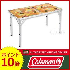 [ Coleman コールマン テーブル ]コールマン ナチュラルモザイク リビングテーブル/120 [ 20000...