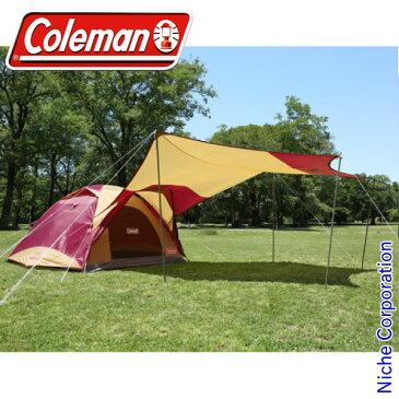 コールマン タフワイドドーム IV /300 ヘキサタープセット(バーガンディ) 2000026514 キャンプ用品 nocu
