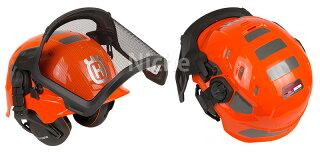 ハスクバーナヘルメットテクニカルH300蛍光オレンジ[5850584-01]