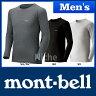 ◆4/27までクーポン◆モンベル ジオライン L.W.ラウンドネックシャツ Men's #1107486