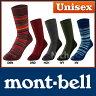 モンベル メリノウール トレッキング ソックス #1108644 [ モンベル mont bell mont-bell | ソックス 靴下 | 登山 トレッキング 関連商品| 山ガール | キャンプ用品 | モンベル メリノウール ソックス ]