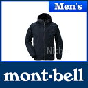 モンベル ウインドブラスト パーカ Men's (ブラック) #1103242(BK)