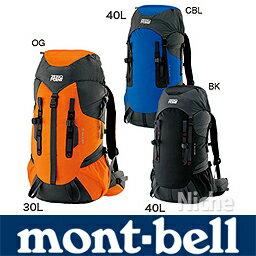 【レビューでP500】 モンベル バックパック 30L ! montbell ( mont-bell )モンベル グラナイト...