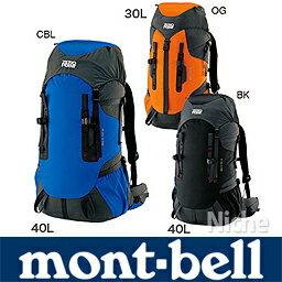 【レビューでP500】 モンベル バックパック 40L! montbell ( mont-bell )モンベル グラナイト...