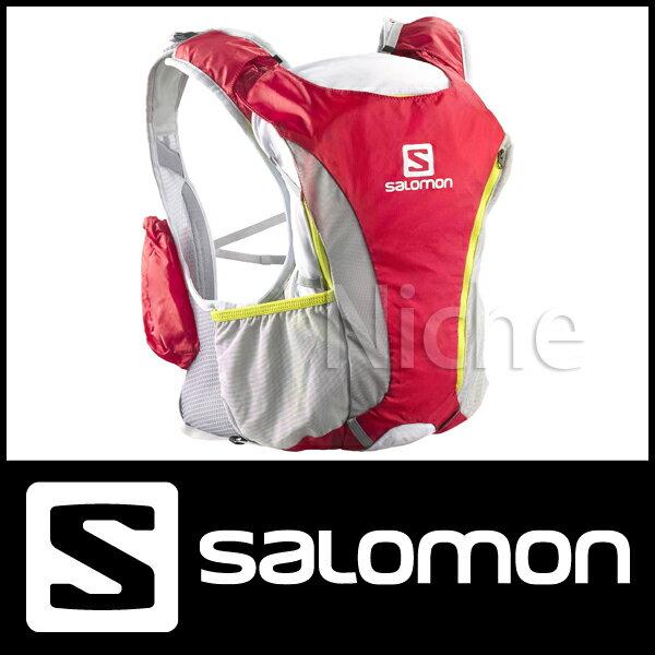 サロモン スキンプロ 10+3 セット (BRIGHT RED|WHITE|GECKO GREEN) [ L37164700 ]