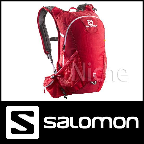サロモン アジャイル2 17 (BRIGHT RED | WHITE) [ L37376100 ]