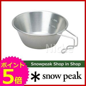 スノーピーク チタン シェラカップ [ スノー ピーク ShopinShopのニッチ!]スノーピーク チタン...