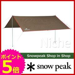 """[ SNOWPEAK スノーピーク ]スノーピーク ライトタープ""""ポンタ""""シールド [ STP-380 ][P5]"""