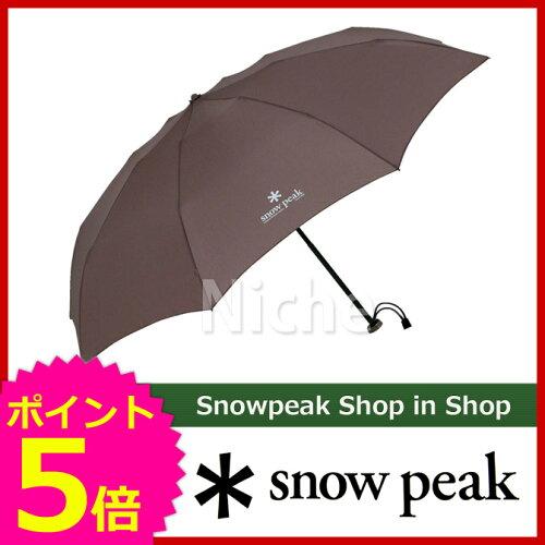 スノーピーク アンブレラUL グレー [ UG-135GY ] [ スノー ピーク ShopinShop | キャンプ 用品 オ...