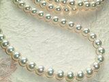 厚巻き花珠クラス本真珠ロングネックレス