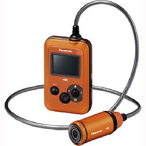【納得の3年保証付き】[PANASONIC]HX-A500-D オレンジ[4Kウェアラブルカメラ]