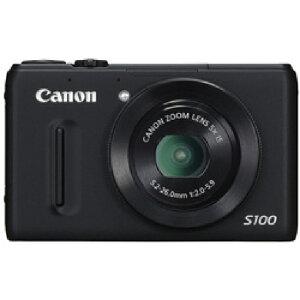 メーカー:Canon 発売日:2011年12月8日3年延長保証付[CANON]PowerShot S100 BK [ブラック]