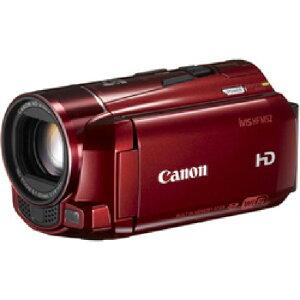 2月24日発売3年延長保証付[CANON]iVIS HF M52(レッド)