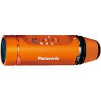 【納得の3年保証付き】[PANASONIC]HX-A1H-DオレンジフルHDウェアラブルカメラ