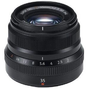 【納得の3年保証付き】[FUJIFILM]XF35mmF2 R WR ブラック