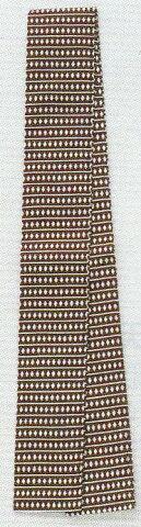 半天帯 袢天帯 半天紐 袢天紐 祭り用袢天帯(茶)コ印巾8cm長さ260cm綿100% そろばん柄