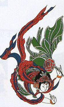 【踊り・祭り用品】パーティ用品入れ墨シール タトゥ— 刺青 パーティ用品入れ墨シール大8224