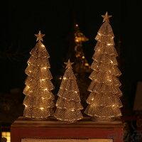 ミニクリスマスツリー クリスマスツリー 卓上サイズ 30cm 40cm 50cm 光るミニクリスマスツリー クリスマス プレゼント ledクリスマスツリー クリスマス用品 おしゃれ 電飾 イルミネーション LED付 家庭 インテリア クリスマス ツリー 簡単組立 小型 X'mas