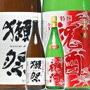 敬老の日 日本酒 獺祭45 金箔入り 祝酒 一升瓶 1800ml×2本 飲み比べ 祝い酒 四割五分