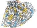 ☆新着☆【ギャザーの細かさが自慢】フラダンスのパウスカートハワイアンキルトのMiu-Mint製作p00746