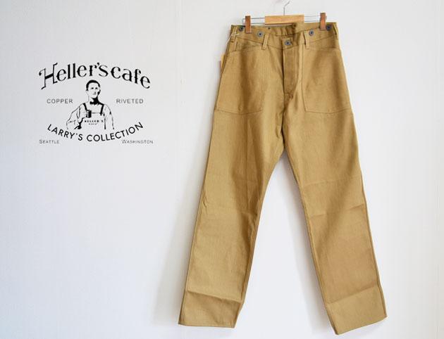 メンズファッション, ズボン・パンツ HELLERS CAFE WWI U.S.ARMY Twill Work Pants
