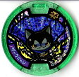 妖怪メダルU stage2 ダークニャン ホロ Uメダル 全品送料無料 QR未登録 バンダイ 妖怪ウォッチ