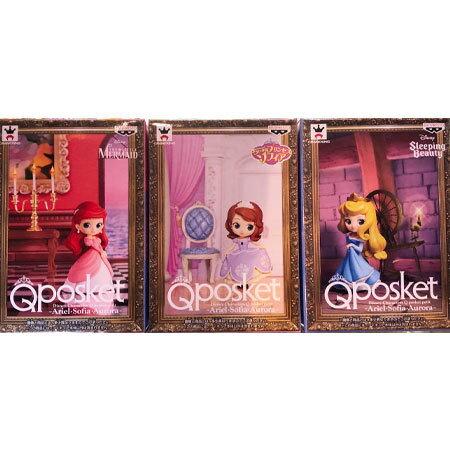 コレクション, フィギュア  Qposket Disney Characters Q posket petit ArielSofiaAurora 3
