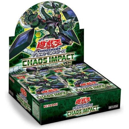 トレーディングカード・テレカ, トレーディングカード  OCG 1BOX30 CHAOS IMPACT BOX KONAMI 20th