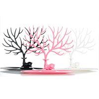 ディアージュエリーディスプレイ鹿のアクセサリーディスプレイピアススタンドネックレスブレスレットアクセサリーインテリアアニマル動物白黒ピンクブラックホワイトおもしろ面白い