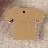 ペーパータグ5枚セット(Tシャツ)