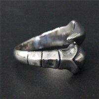 スコーピオンテールステンレスリング(RMT411)サイズ/23号/24号/25号/26号/27号/28号/29号/30号竜の爪ドラゴンクロウクローサソリ蠍シッポテイル面白いおもしろオモシロ指輪サージカルステンレス316Lメンズレディースペアリングサイズ調整フリーサイズ