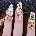 マーメイドネイルリング 1個販売 チップリング ネイル 指先の指輪 爪の指輪 ネールリング 01号 ピンキーリング サイズが小さい ミニサイズ 王冠 ティアラ 花 フラワー 真珠 パール クラウン ゴールド 金メッキ 結婚式 パーティ 入学式 クリスマス プレゼント 女性 レディース