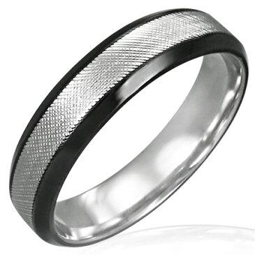 ブラジールステンレスリング(LRC170)サイズ/18号 ブラック 黒色 シンプル ステンレスリング 指輪 サージカルステンレス316L 低アレルギー メンズ レディース ペアリング プレゼント ギフト 結婚 婚約 記念日 誕生日 ピンキーリング