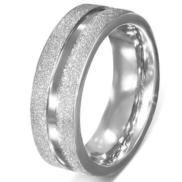 マーズリング(LRC408)サイズ/21号/26号 ラメ ギラギラ ステンレスリング 指輪 サージカルステンレス316L 低アレルギー メンズ レディース ペアリング プレゼント ギフト 結婚 婚約 記念日 誕生日 ピンキーリング ファランジリング