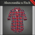 【20%OFFセール 9/22 10:00〜9/25 9:59】 アバクロ Abercrombie&Fitch 正規品 レディース シャツ Shannon Flannel Shirt easy fit