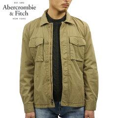アバクロAbercrombie&Fitch正規品メンズシャツジャケットGARMENTDYEZIP-UPSHIRTJACKET132-328-1197-400