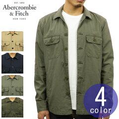 アバクロAbercrombie&Fitch正規品メンズアウターミリタリーシャツジャケットMILITARYSHIRTJACKET