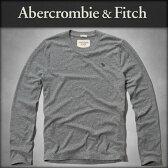 アバクロ Abercrombie&Fitch 正規品 メンズ 長袖Tシャツ MOOSE CREEK TEE 124-236-0538-012
