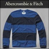 アバクロ Abercrombie&Fitch 正規品 メンズ 長袖Tシャツ TUPPER LAKE CREW 124-236-0721-026