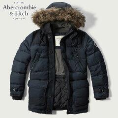 アバクロAbercrombie&Fitch正規品メンズアウタージャケットHOODEDPUFFERPARKA132-327-0314-023