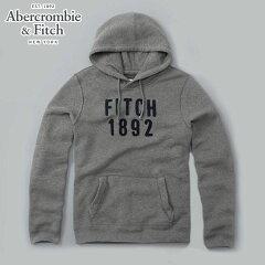 アバクロAbercrombie&Fitch正規品メンズプルオーバーパーカーLOGOGRAPHICHOODIE175-122-0030-013